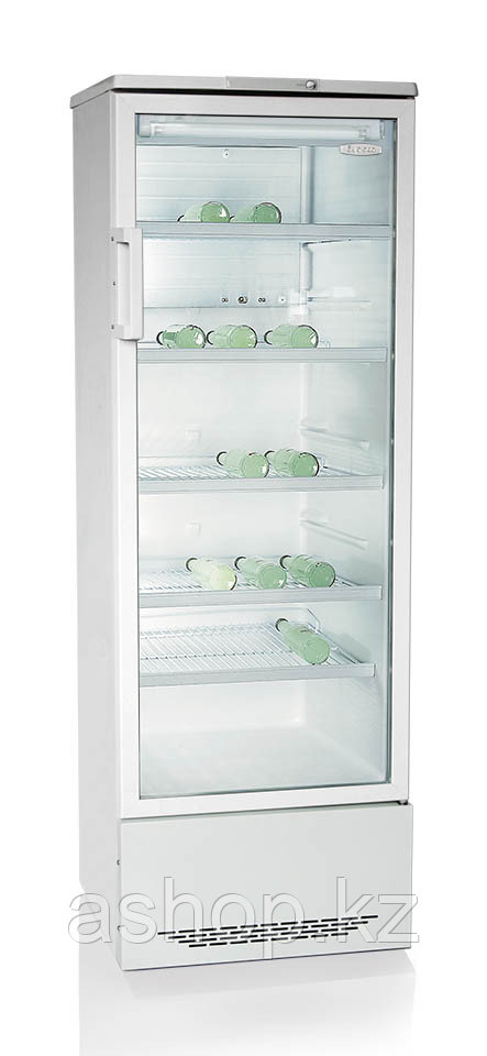 Шкаф-витрина Бирюса 310, Тип открывания: Дверца стеклянная, Объем: 310 л, Цвет: Белый