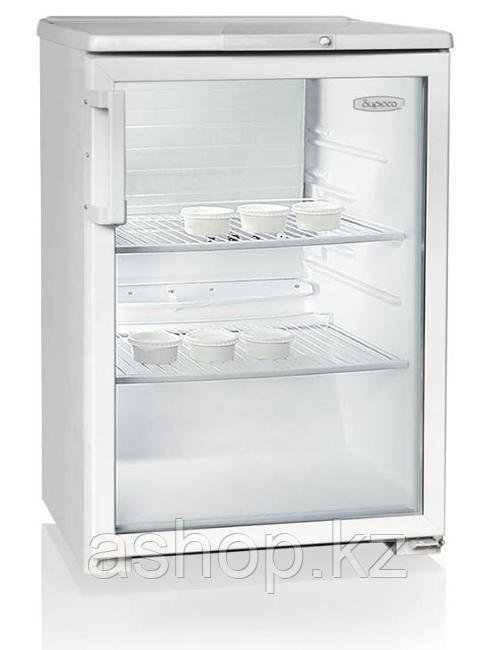 Шкаф-витрина Бирюса 152, Тип открывания: Дверца стеклянная, Объем: 152 л, Цвет: Белый