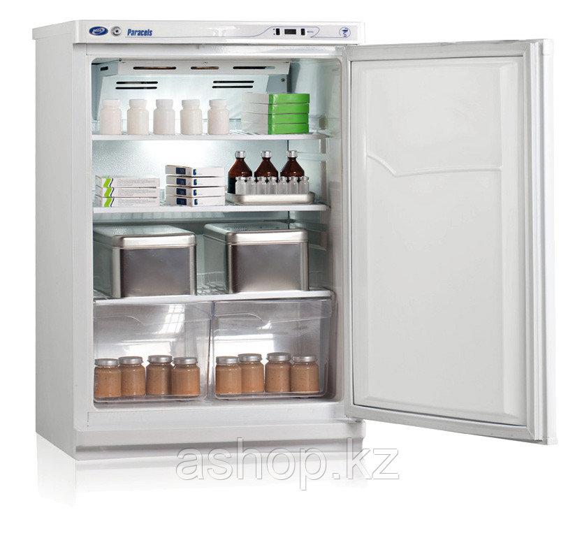 Холодильник фармацевтический Pozis ХФ-140, Тип открывания: Дверца металлическая с замком, Объем: 140 л, Корзин