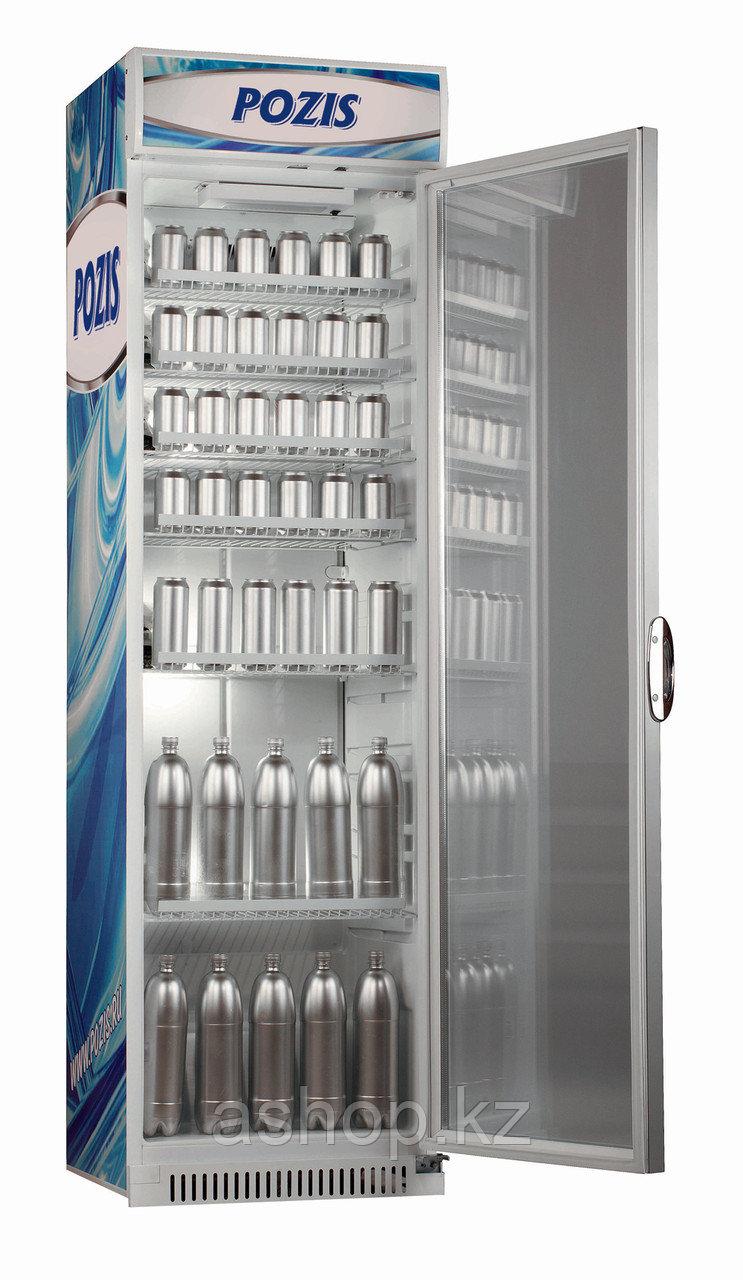 Шкаф-витрина Pozis Свияга-538-10, Тип открывания: Дверца стеклянная, Объем: 376 л, Камер: 1, Циркуляция воздух