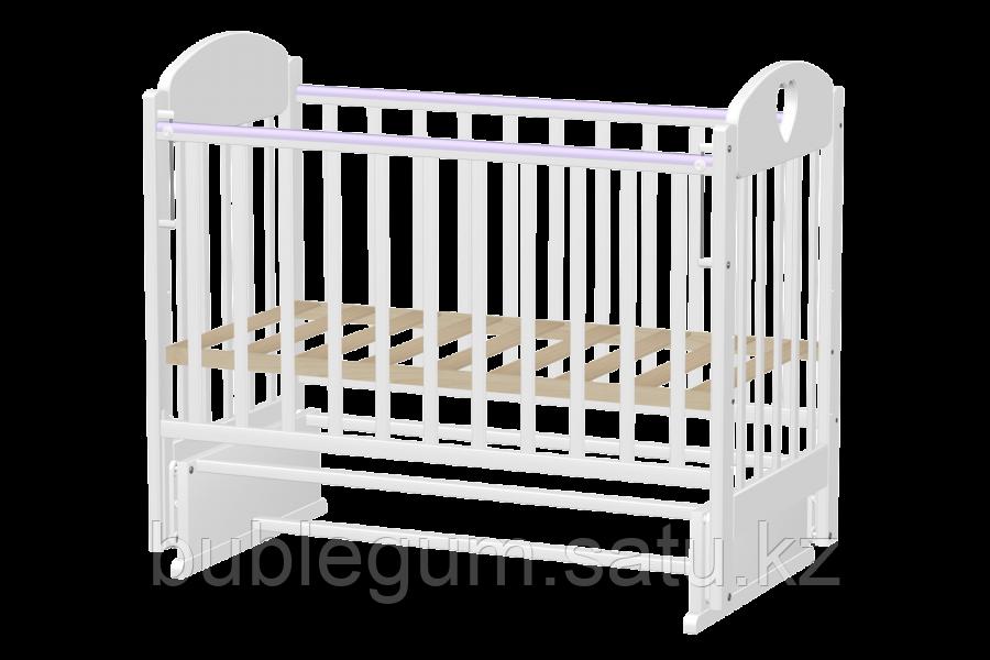 Кроватка детская Ведрусс Иришка–7 поперечный маятник без шкафчика