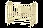 Кроватка детская Ведрусс Иришка–7 поперечный маятник без шкафчика, фото 2