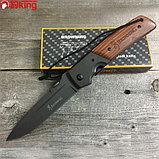 Нож туристический складной Browning DA52 усиленный, фото 3
