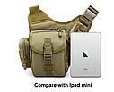 Тактическая сумка KMS - 6013, с плечевым ремнем. , фото 2