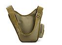 Тактическая сумка KMS - 6013, с плечевым ремнем. , фото 3
