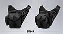 Тактическая сумка KMS - 6013, с плечевым ремнем. , фото 5