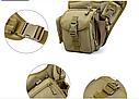 Тактическая сумка KMS - 6013, с плечевым ремнем. , фото 6