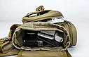 Тактическая сумка KMS - 6013, с плечевым ремнем. , фото 7
