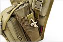 Тактическая сумка KMS - 6013, с плечевым ремнем. , фото 9