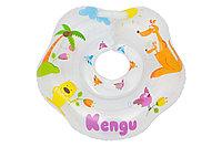 Надувной круг на шею для купания малышей Kengu. Возраст от 0 до 2-х лет