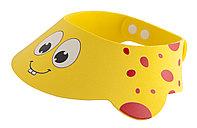 """Козырек для мытья головы """"Желтый жирафик"""". Возраст от 6 месяцев до 3-х лет"""