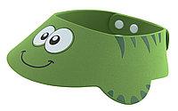 """Козырек для мытья головы """"Зеленая ящерка"""". Возраст от 6 месяцев до 3-х лет"""