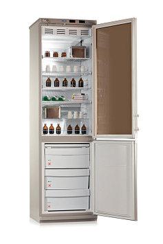 Холодильник лабораторный Pozis ХЛ-340, Тип открывания: Дверца металлическая в морозильной камере, стеклянная в