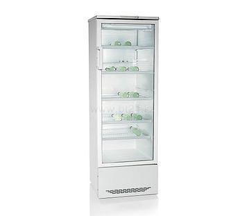 Шкаф-витрина Бирюса 310Р, Тип открывания: Дверца стеклянная, Объем: 310 л, Цвет: Белый