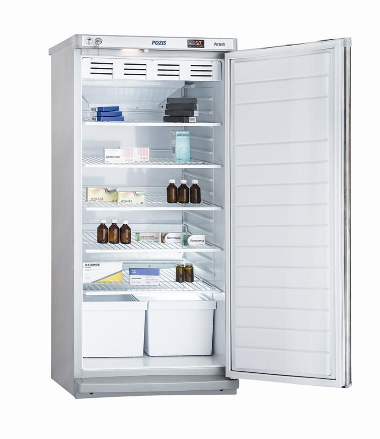 Холодильник фармацевтический Pozis ХФ-250-2, Тип открывания: Дверца металлическая с замком, Объем: 250 л, Корз