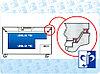 Морозильная камера медицинская Pozis ММ-180/20/35, Тип открывания: Дверца металлическая с замком, Объем: 180 л, фото 4