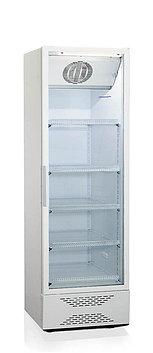 Шкаф-витрина Бирюса 520N, Тип открывания: Дверца стеклянная, Объем: 520 л, Цвет: Белый