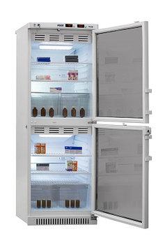 Холодильник фармацевтический Pozis ХФД-280, Тип открывания: Дверца стеклянная с замком, Объем: 280 л, Корзин:
