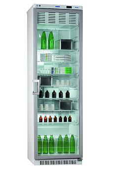 Холодильник фармацевтический Pozis ХФ-400-3, Тип открывания: Дверца стеклянная с замком, Объем: 400 л, Корзин:
