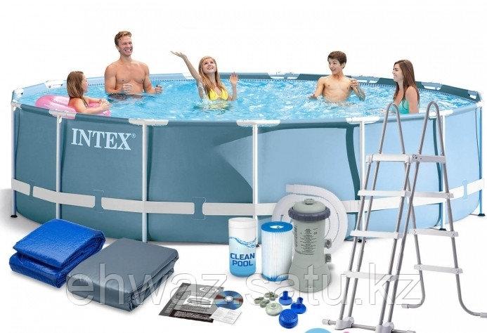 Каркасный бассейн Intex 457*122