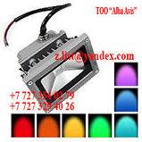 Прожектор светодиодный RGB 20W цветной, разноцветный, меняющий цвета, фото 2