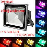 Прожектор светодиодный RGB 50W цветной, разноцветный, меняющий цвета, фото 2