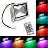 Прожектор светодиодный RGB 50W цветной, разноцветный, меняющий цвета, фото 4