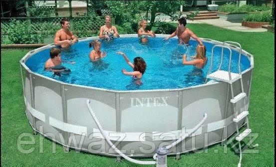 Каркасный бассейн Intex 366*122