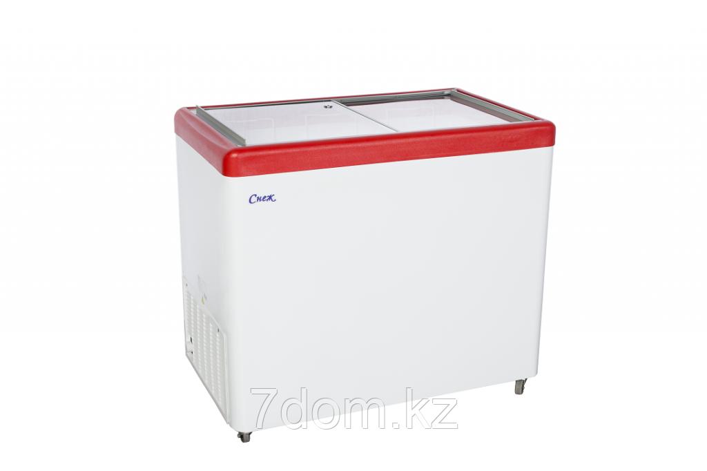 Морозильный ларь Снеж МЛП-350, красный