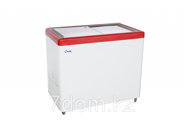 Морозильный ларь Снеж МЛП-350, красный , фото 2