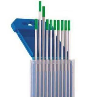 Электроды вольфрамовые WP, Ø 2,0 мм, цвет зеленый
