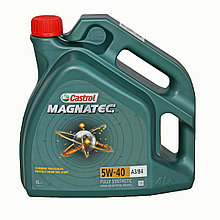 Моторное масло Castrol Magnatec 5W-40 A3/B4 4L синтетическое