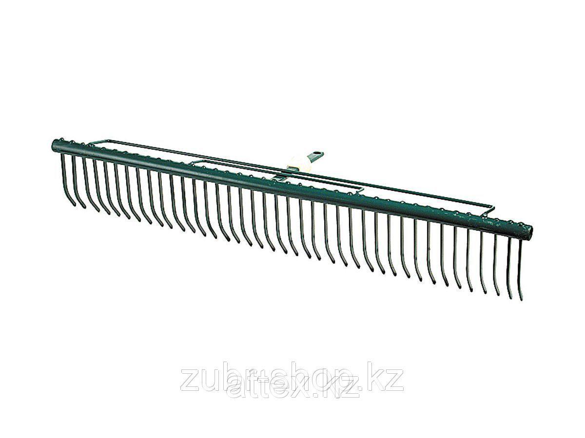 """Грабли RACO """"MAXI"""", для очистки газонов, с быстрозажимным механизмом, 39 зубцов / 680мм 4230-53842"""