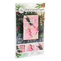 Декор для упаковки подарков New Year is commimg!, набор для шитья, 22 x 33 x 14 см
