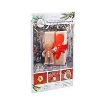 Декор для упаковки подарков 'Имбирный пряник', набор для шитья, 22 x 33 x 14 см