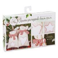 Мешки для подарков 'Новогодние сладости', набор для шитья, 16,3 x 10,7 x 2,5 см