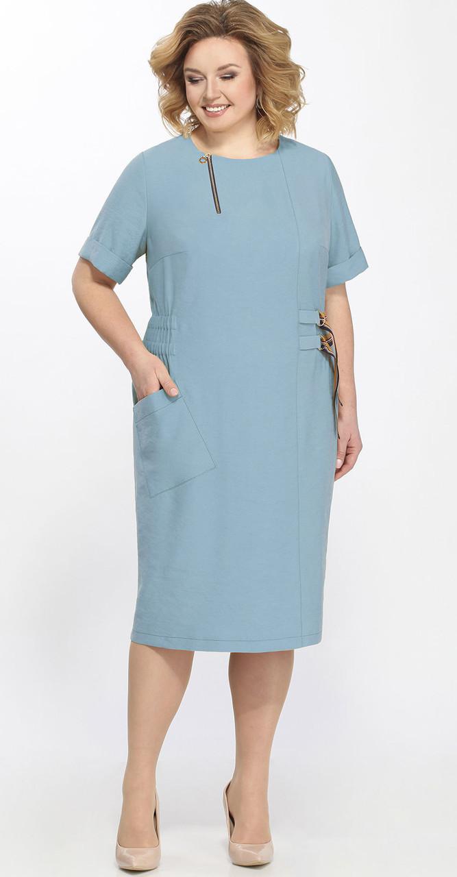 Платье Matini-31290/1, голубой, 58