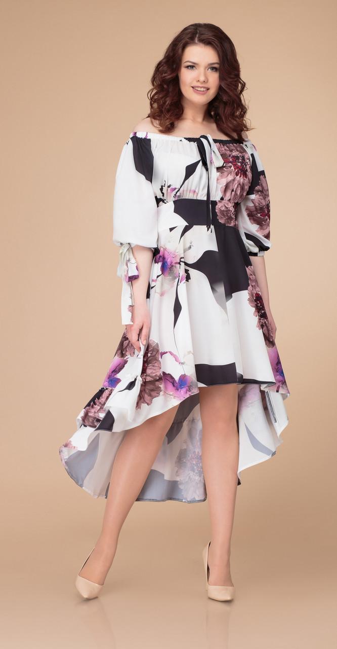 Платье Svetlana Style-1250/1, цветы, 44
