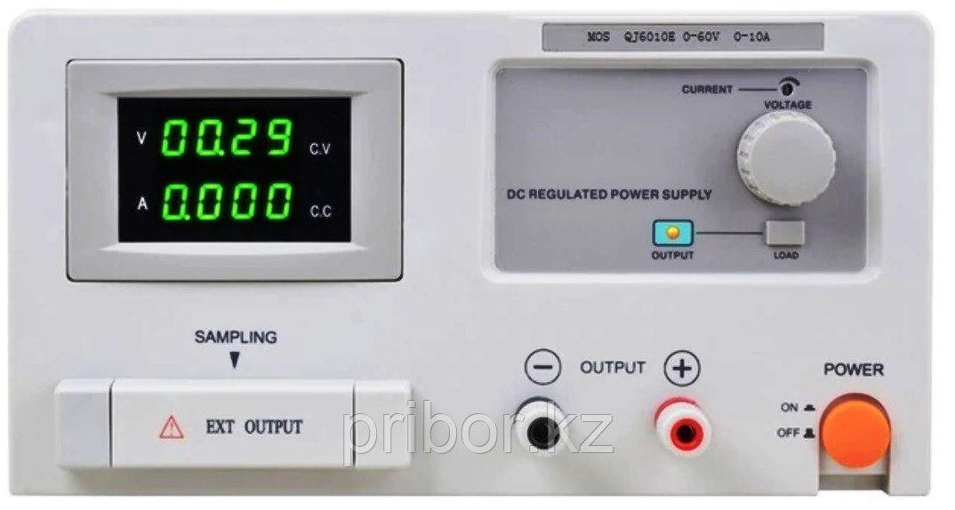 Одноканальный источник постоянного напряжения (60 В, 10 А) QJ6010E