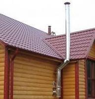 Монтаж дымоходных систем. (банные печи,камины.отопительные котлы), фото 1