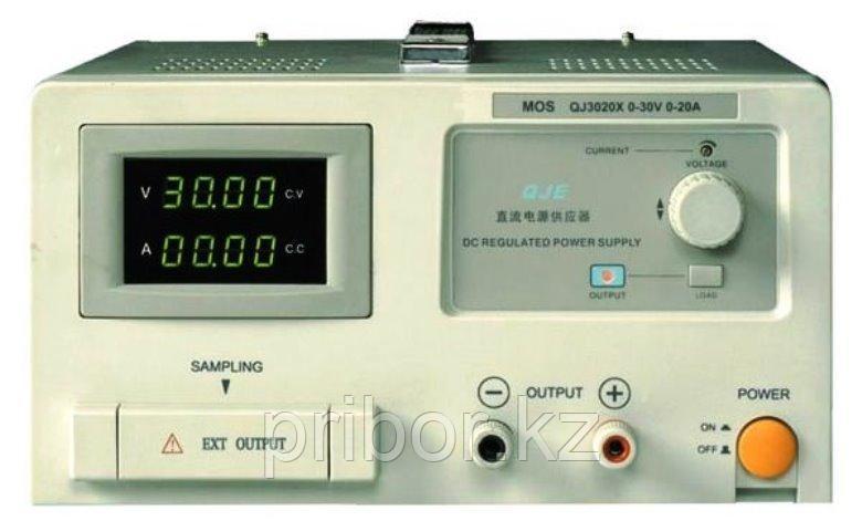 Одноканальный источник постоянного напряжения (30 В, 20 А) QJ3020E