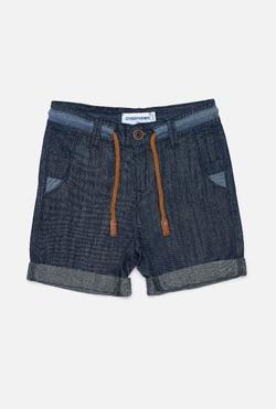 Джинсовые шорты для мальчиков Corto темно-синий