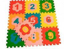 Мягкий пол универсальный 33*33 (см) ЦИФРЫ, фото 2