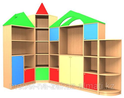 Шкаф-купе для детского сада