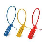 Пломбы пластиковые номерные УП-255 ( крас,зел,желт,синий,белый,оранжевый)