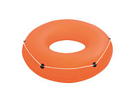 Надувной круг для плавания с канатом, диаметром 119 см (оранжевый, голубой, зеленый) BESTWAY 36120
