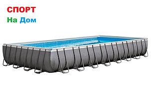 Прямоугольный каркасный бассейн Intex 26378 (975 х 488 х 132 см, на 54368 литра ), фото 2