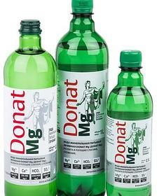 Вода минеральная питьевая лечебная Donat Mg