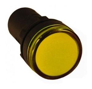 Индикатор AD-22DS (LED) Ø22мм (желтый) IEK