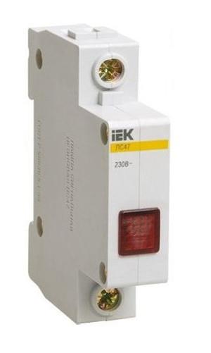 Сигнальная лампа ЛС-47 (красный неон) IEK (12/240)